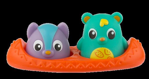 Badespielzeug Bären-Freunde mit Wärmesensor