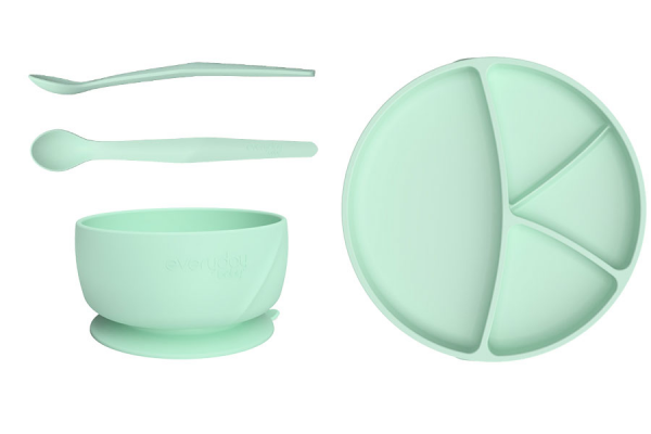 Everyday Baby Silikon-Esslern Starter Set