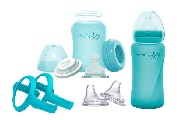 Glas-Babyflaschen Mitwachs-Set
